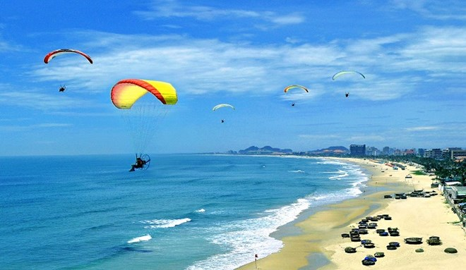 My Khe beach in Da Nang (Source:Internet)
