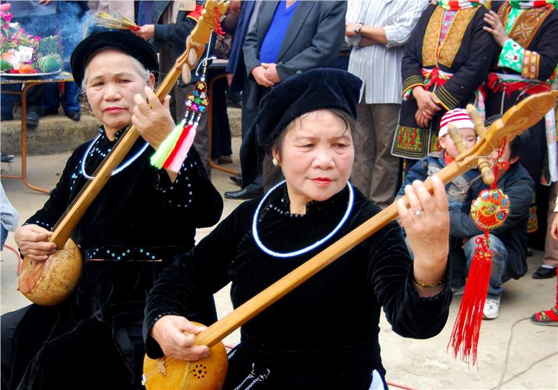 Then singing performance of Tay ethnic group - Source: Image from langson.gov.vn