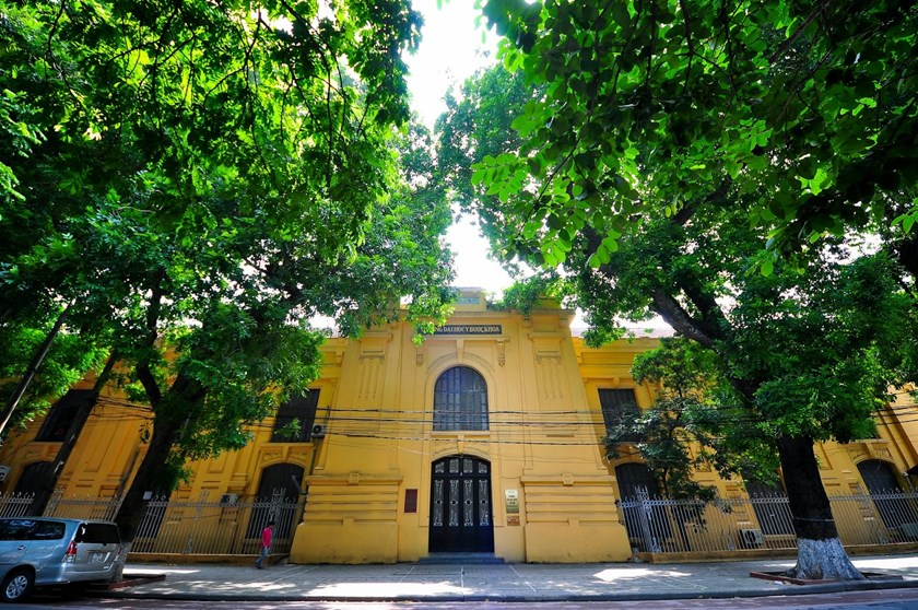 Hanoi Medical University, now at 1 Ton That Tung Street, is the oldest university in Vietnam. It was founded in 1902 by the French as the Indochina Medical College. File photo