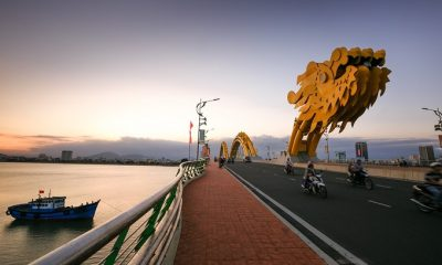Da Nang, a top destination in central Vietnam, is famous for the icon of Dragon Bridge.