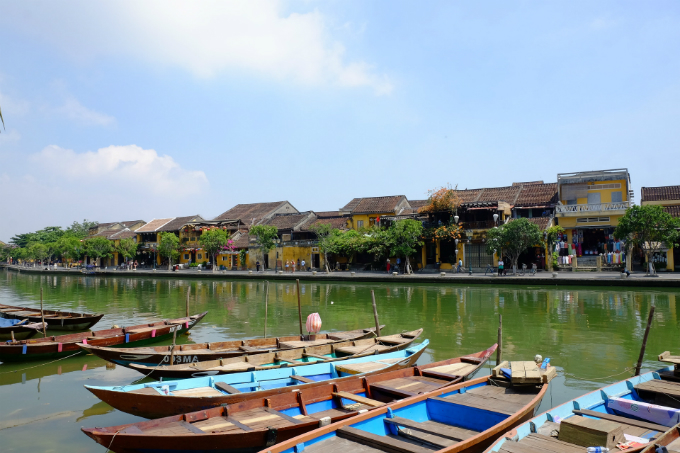 Hoi An ancient town is a top tourist attraction in Vietnam. Photo acquired by VnExpress