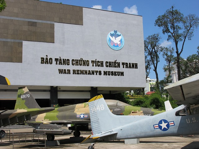 The War Remnants Museum in HCM City. — VNS File Photo
